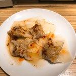 呉さんの台湾料理 - ワンタン(お通し)