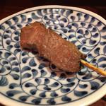 もつ焼のんき - レバ150円