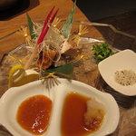 遊食屋 わらべえ - 丹波地鶏岩塩焼 780円