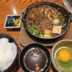 97191501 - すき鍋定食?