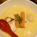 97191621 - 鶏白湯味玉ラーメン