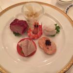 ホテルオークラレストラン新宿 中国料理 桃里 - 五種冷菜盛合せ
