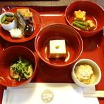 鉢の木 - 前菜・炊合・段付・坪・小付