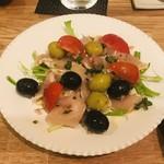 イタリア食堂 Necco - とり胸とオリーブ