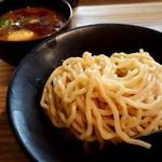 97196789 - 「吟醸つけ麺味噌(大 330g)」+「半熟玉子」