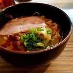 97196859 - 「替麺(一人前) 」※つけ麺を食べ終わってから、残ったつけ汁を店員さんに渡すと作ってもらえます。