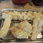天ぷら さいとう 博多 - 肉天ぷら