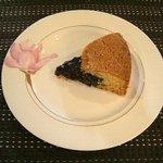 珈琲香坊 - ブルーベリーケーキ