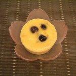 珈琲香坊 - ダークチェリーの焼きプリン