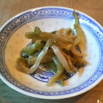 中国料理 頂好 - ザーサイ