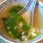 中国料理 頂好 - スープ