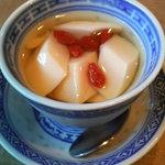 中国料理 頂好 - 杏仁豆腐