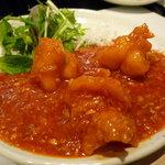 北新地 中国料理 星華 - ☆ぷりっとした大海老チリソース煮…最高ですね(≧▽≦)/~♡☆