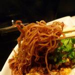 北新地 中国料理 星華 - ☆パリっとした食感も楽しめる麺ですね!(^^)!☆