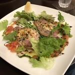 ルヴェール - 料理写真:メインディッシュ(豚ロースのグリル 生ハムとチーズをのせて焼き上げます)