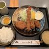 とんかつ和幸 - 料理写真:広島産牡蠣・海老・ひれかつ定食(1,490円) 2018.11