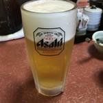 ちゃんこ霧島 - •生ビール680円税込