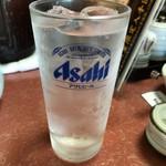 ちゃんこ霧島 - •麦焼酎水割650円税込