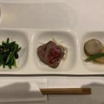 旬菜串焼き 彩 - お通し