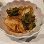 旬菜串焼き 彩 - 手作りキムチ