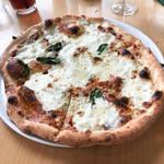 97205048 - 4種のチーズのピザ