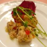 ピッツェリア・サバティーニ - 若鶏もも肉のエスカベーチェ