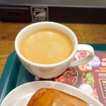 プロント - モーニングトーストセット(440円)のコーヒー