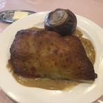 ル ビストロ - 鯛のゴルゴンゾーラチーズグラタン仕立て。凄い香り。