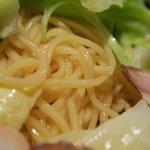 9722012 - 広島つけ麺 つけ麺普通盛¥650 辛さ10倍でいただきました