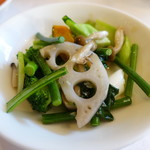 広東名菜 富徳 - 野菜炒め