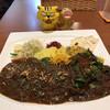 ドムジンスパイスカフェ - 料理写真:ドムジンWプレート大  1,250円(税込)