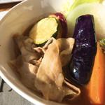 Kuu - 豚しゃぶと野菜のカレー