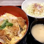 かつ丼 いなば和幸 - 料理写真:ロースカツ丼1058円