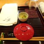 いっ木 - 料理写真:セッティング