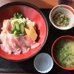 市場の食堂 金目亭 - 料理写真:炙り金目丼 1500円