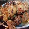 焼き鳥屋台 - 料理写真: