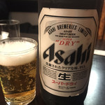 神田まつや - 大瓶ビール