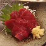 久松 - 鯨刺身