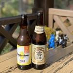 森の中のお肉レストラン アースガーデン - 【2018.11.12】ビールとノンアルで乾杯❗️