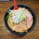 拉麺 えぼし - 味噌拉麺(大)850円