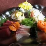 うまいもん屋 えびす丸 - 料理写真:刺身の盛り合せ