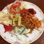 モティマハール - オードブル、サラダ系