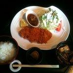ROZEO - ロースカツ定食(おろしポンズ)