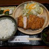 とんかつ武信 - 料理写真:【2018/11】ロースかつ膳(竹)