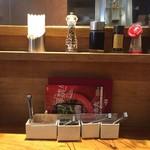 博多 一風堂 - テーブルセット