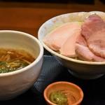 つけ麺 舞 - 濃厚つけ麺+特製トッピング+わさび