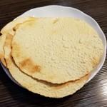 ネパール・インド料理 RaRa - パパド