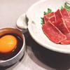 Nikushoumonjirou - 料理写真:レアステーキユッケ風