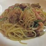 ビストロ ドンナ - 牡蠣のスパゲティ