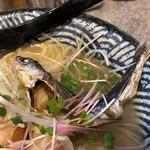 隠岐の島ラーメン - 飛魚煮干し